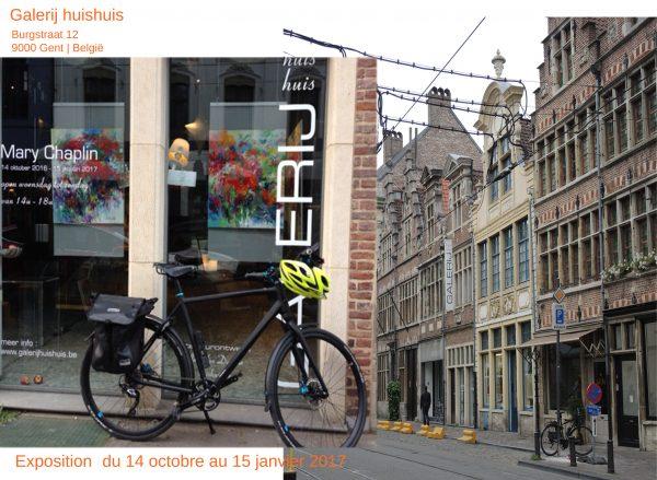 Burgstraat 12, Gent. Galerij Huis Huis de jan Van Damme