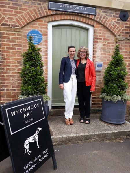 Mary Chaplin et Deborah Allan Wychwood Art Gallery Deddington, Oxfordshire UK