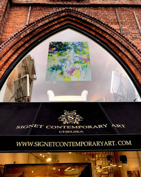 Signe and James Giles, Signet Contemporary Art Gallery Chelsea