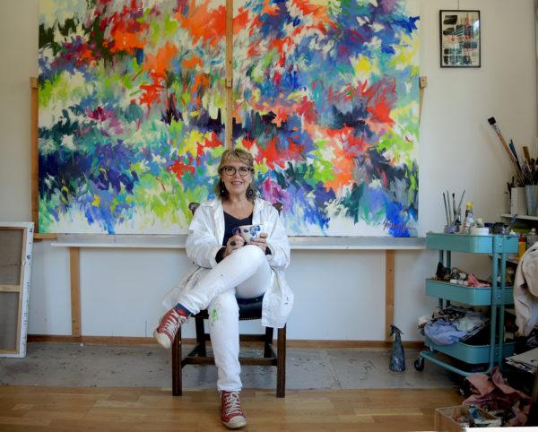 'Garden of life' Hommage à Joan Mitchell